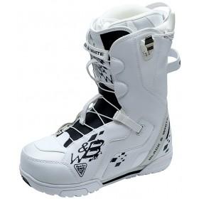 Ботинки сноубордические Black Fire B&W 2QL white