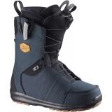 Ботинки сноубордические SALOMON LAUNCH Navy/BLACK/Navy
