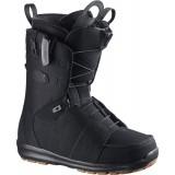 Ботинки сноубордические SALOMON LAUNCH BALLISTIC BLACK/BK/BK