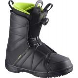 Ботинки сноубордические SALOMON FACTION BOA BLACK/BLACK/BK