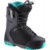 Ботинки сноубордические SALOMON IVY BLACK/EMERALD/BLACK