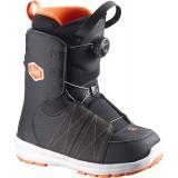 Ботинки сноубордические SALOMON LAUNCH BOA JR BLACK/RD/BK