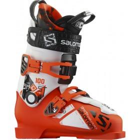 горнолыжные ботинки SALOMON Ghost FS 100 Orange/White