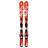 Горные лыжи с креплениями Atomic REDSTER JR II & XTE 045