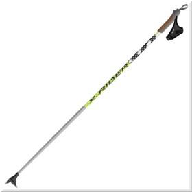 палки для беговых лыж Spine X-Rider (гибрид 60/40) Серо/Лимонный