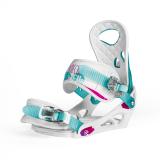 Сноуборд крепления NIDECKER ELLE WHITE/BLUE