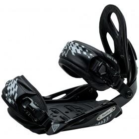 Комплект креплений для сноуборда Black Fire B&W black