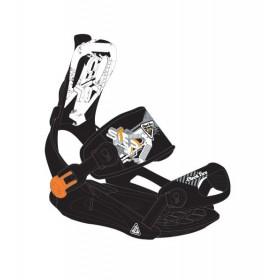 Комплект креплений для сноуборда Black Fire Step FT black
