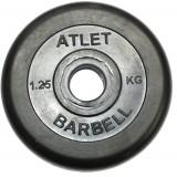 Диск обрезиненный BARBELL Atlet 26 мм 1.25 кг