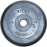 Диск обрезиненный BARBELL Atlet 26 мм 2.5 кг