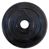 Диск обрезиненный BARBELL Atlet 51 мм 10 кг