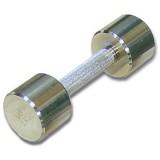 Гантель хромированная для фитнеса 4 кг BARBELL MB-FitC-4