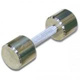 Гантель хромированная для фитнеса 6 кг BARBELL MB-FitM-6
