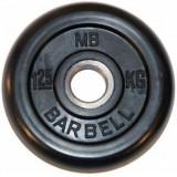 Диск обрезиненный BARBELL  26 мм 1.25 кг