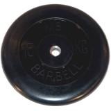 Диск обрезиненный BARBELL  26 мм 15 кг