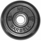Диск обрезиненный BARBELL  31 мм 1.25 кг