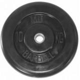 Диск обрезиненный олимпийские BARBELL 51 мм 10 кг