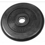 Диск обрезиненный олимпийские BARBELL 51 мм 20 кг