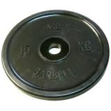 Диск Евро-классик BARBELL 51 мм 15 кг
