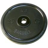 Диск Евро-классик BARBELL 51 мм 25 кг