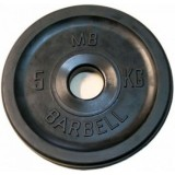 Диск Евро-классик BARBELL 51 мм 5 кг